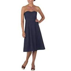 Isaac Mizrahi for Target Denim Strapless Dress